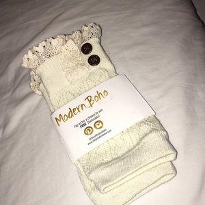 Modern boho boot socks